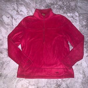 KOPPEN Pink Half Zip Pullover